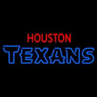 Custom Houston Texans  Wordmark Logo Neon Sign Neon Sign