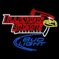 Custom Illinois State Redbirds Primary 2005 Pres Logo Ncaa Neon Sign 2 Neon Sign