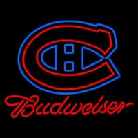 Custom Montreal Canadiens Logo Budweiser Neon Sign Neon Sign