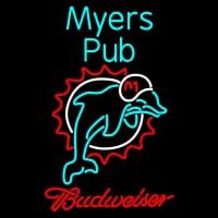 Custom Myers Pub Miami Dolphins Nfl Neon Sign Neon Sign
