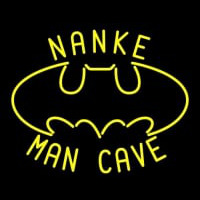 Custom Nanke Mancave Bat Neon Sign