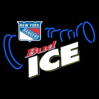 Custom New York Rangers Bud Ice Neon Sign Neon Sign