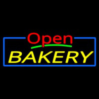 Custom Open Bakery 2 Neon Sign