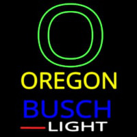 Custom Oregon Wings With Busch Light Real Neon Glass Tube Neon Sign
