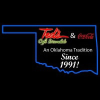 Custom Outline Of The State Of Oklahoma Neon Sign Neon Sign