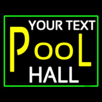 Custom Pool Hall Neon Sign