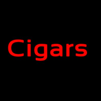 Custom Red Cigars 1 Neon Sign