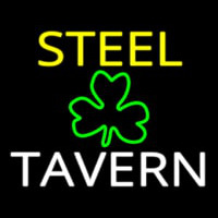Custom Steel Tavern 1 Neon Sign