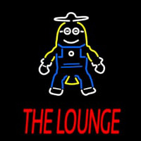 Custom The Lounge Neon Sign