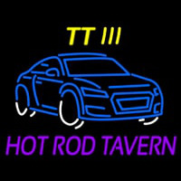 Custom Tt 3 Hot Rod Tavern Car Logo 1 Neon Sign