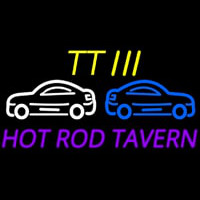 Custom Tt 3 Hot Rod Tavern Car Logo 2 Neon Sign