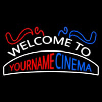 Custom Welcome To Cinema Neon Sign