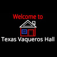 Custom Welcome To Texas Vaqueros Hall Real Neon Glass Tube Neon Sign Neon Sign