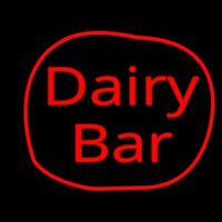 Dairy Bar Neon Sign