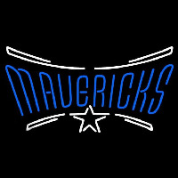 Dallas Mavericks Wordmark 2001 02 Pres Logo NBA Neon Sign Neon Sign