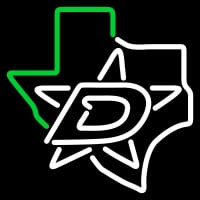 Dallas Stars Alternate Pres Logo Nhl Neon Sign Neon Sign
