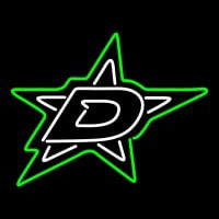 Dallas Stars Primary Pres Logo Nhl Neon Sign Neon Sign