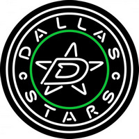 Dallas Stars Secondary 2013 14 Pres Logo NHL Neon Sign Neon Sign