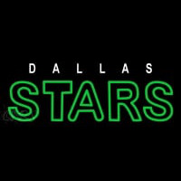 Dallas Stars Wordmark 2013 14 Pres Logo NHL Neon Sign Neon Sign