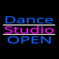 Dance Studio Open Neon Sign