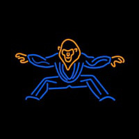 Dancing Guy Logo Neon Sign