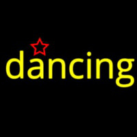 Dancing Star Neon Sign