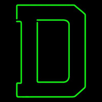 Dartmouth Big Green Alternate 0 Pres Logo NCAA Neon Sign Neon Sign