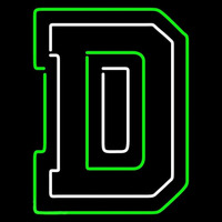 Dartmouth Big Green Alternate 2007 Pres Logo NCAA Neon Sign Neon Sign
