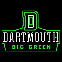 Dartmouth Big Green Neon Sign Neon Sign