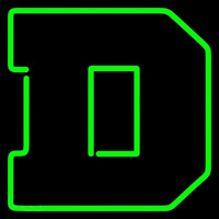 Dartmouth Big Green Primary 1945 2006 Logo NCAA Neon Sign Neon Sign