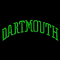 Dartmouth Big Green Wordmark 0 Pres Logo NCAA Neon Sign Neon Sign