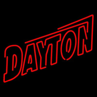 Dayton Flyers Wordmark 1995 Pres Logo NCAA Neon Sign Neon Sign