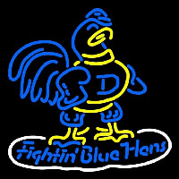 Delaware Blue Hens Primary 1950 1992 Logo NCAA Neon Sign Neon Sign