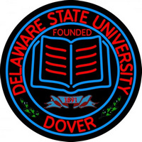Delaware State University Neon Sign Neon Sign