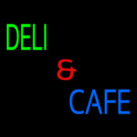Deli And Cafe Neon Sign