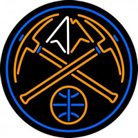 Denver Nuggets Alternate 2005 06 Pres Logo NBA Neon Sign Neon Sign