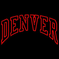 Denver Pioneers Neon Sign Neon Sign