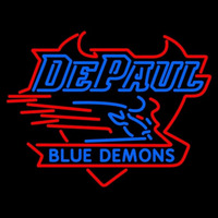 Depaul Blue Demons Neon Sign Neon Sign