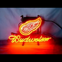 Detroit Red Wings Hockey Neon Sign Neon Sign