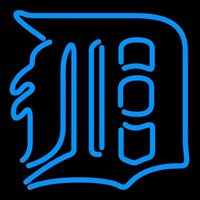 Detroit Tigers MLB Neon Sign Neon Sign