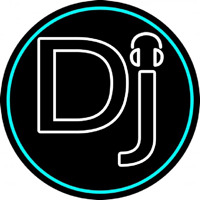 Dj Headphone Neon Sign