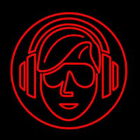 Dj Music Neon Sign