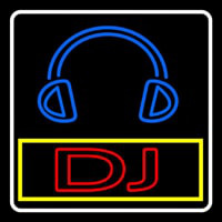 Dj With Logo Neon Sign