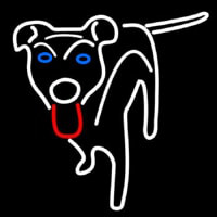 Dog Logo Neon Sign