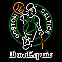 Dos Equis Boston Celtics NBA Beer Sign Neon Sign