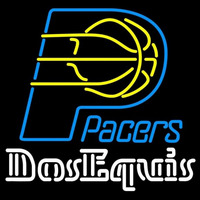 Dos Equis Indiana Pacers NBA Beer Sign Neon Sign