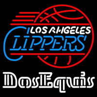 Dos Equis Los Angeles Clippers Beer Sign Neon Sign