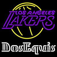 Dos Equis Los Angeles Lakers NBA Beer Sign Neon Sign