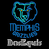 Dos Equis Memphis Grizzlies NBA Beer Sign Neon Sign