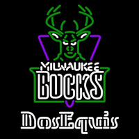 Dos Equis Milwaukee Bucks NBA Beer Sign Neon Sign